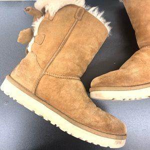 UGG Melani Chestnut Bow Boots